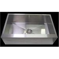 Farm Apron Flat Front Kitchen Sink