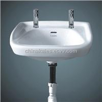 China Sanitary ware Suppliers Hang Type Wash Basin (W-0003)