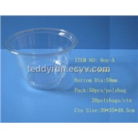 PET Cold Cup 8ozA (Ice Cream Cup)