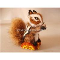 Synthetic Fur Squirrel