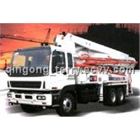 HOWO Truck-Mounted Concrete Pump