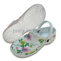 Women's Printed Clogs