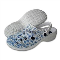 Women's with holey Clogs