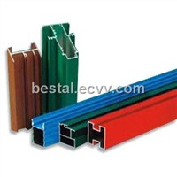 Aluminium Powder Coating Extrusion
