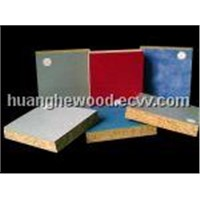 melamine particle board ( PB)