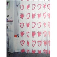 printing peva shower curtain