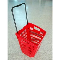 Shoppin G Basket with Wheels