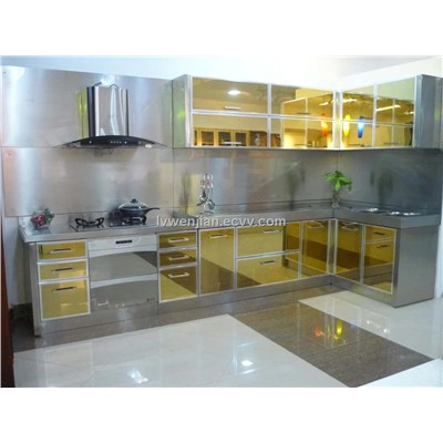 Stainless Steel Kitchen Cabinet SS China Metal Cabinet A A