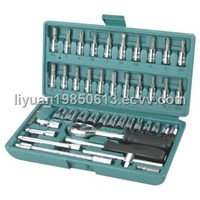 46pcs Socket Wrench Set
