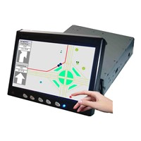 In-Dash Monitor for Car PC with Touchscreen