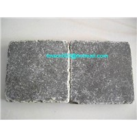 Machine honed Tumbled Limestone (Blauwesteen GETROMMELD tegel) supplier