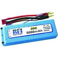 RFI 2 Cell 5000mAh 7.4V 30 C Li-po Battery