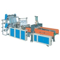 Automatic Punching Double-Layer Vest Bag Making Machine (SHXJ-E Model)