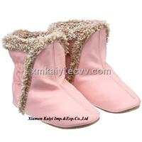 Sheepskin Baby Boots