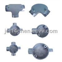 Aluminum Circular Box/Switch Box for BS31