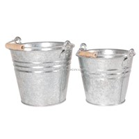 galvanized bucket tin pail