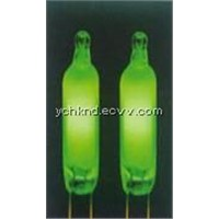 neon lamp/light/bulb NE-2G green