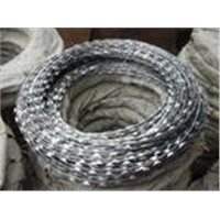 razor type barbed wire