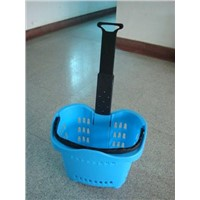 Shopping Trolley / Shopping Basket with Wheel (YF-TL-5)