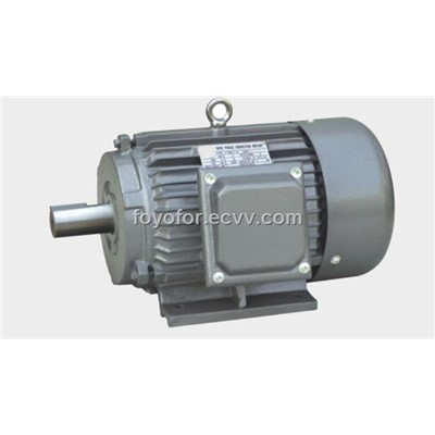 Y series single phase three phase capacitor start for Single phase capacitor start motor