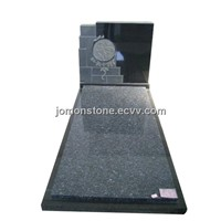 Black Granite Tombstone(XMJ-TB45)