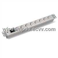 PDU socket and plug with master switch bais PDU