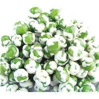 White Color Wasabi Flavor Coated Green Peas