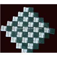 Marble Mosaic, Green Marble Mosaic Paving