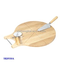 3pcs Pizza Set in Wooden Handle