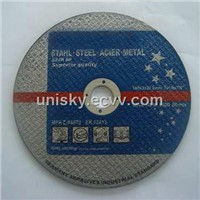 Cutting disc and grinding wheel