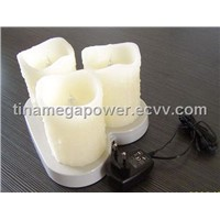 Flameless Battery-Operated wax candle