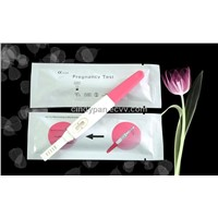 HCG pregnancy test midstream