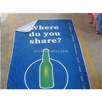 High Quality Printed Beach Towel for Promotion