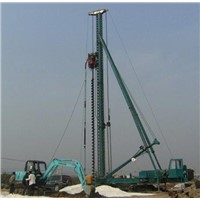 Long Screw Drilling Machine with Multifunctional Pile Frame