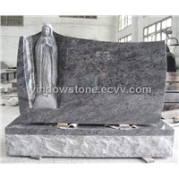 Mary Statue Carving Monuments, Tombstones, Memorials, Headstones, Gravestones