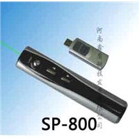 RF Green Turnpage Pointer (SP-800)