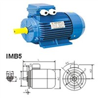 Three-Phase Asynchronous Electric Motor