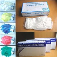 Vinyl Coloured Glove