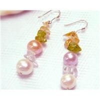 Freshwater Pearl Earring (Jpe-0031)