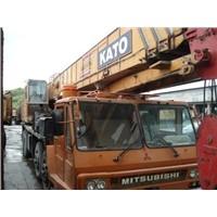 Used Kato Nk500e-v Truck Crane