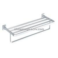 CE approved brass towel shelf & bathroom accessory