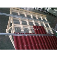 Aluminum Mounting System for Fixing Solar Panel