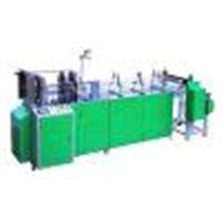 Automatic plastic tube pasting machine