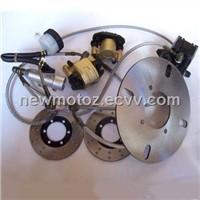 Brake System for Bashan ATV (X-BP66D)