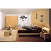 Bedroom Furniture bed night table wardrobe A51