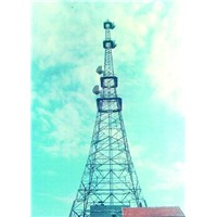 Broadcast Communication Steel Tower