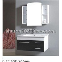 European Style Black Chocalate MDF Bathroom Cabinet