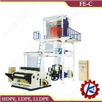 FE-C Model Rotary Head PE Film Blowing Machine