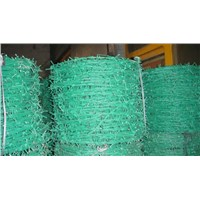 PVC-Coated Barbed Wire