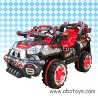 R/C Ride on Toy - Super Jeep